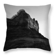 Sedona Rock Zoom Throw Pillow