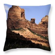 Sedona Arizona - Greeting Card Throw Pillow