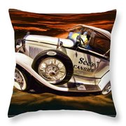 See's Car Throw Pillow