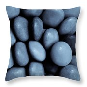 Selenium Abstract Throw Pillow