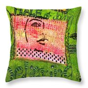 Self-assurance Throw Pillow