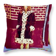 Self Paintlet 1975 Throw Pillow