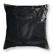 Self Portrait 2008 Throw Pillow by Gabrielle Wilson-Sealy