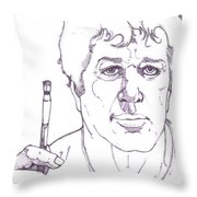 Self Portrait Number 3 Throw Pillow
