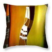 Semiformal Tee Shirt And Tie Throw Pillow