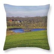 Senic So. Missouri Throw Pillow