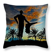 Senor Pepe Luis Vazquez Throw Pillow