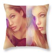 Sensual Beauty Throw Pillow