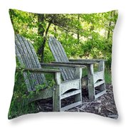 Sentimental Throw Pillow by Carol Sweetwood