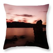 Sentinel Of Mono Lake Throw Pillow