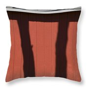 Separated At Birth Throw Pillow