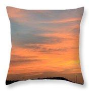 September 27 2012 Sunrise Throw Pillow