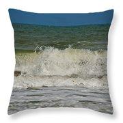 September Beach 2 Throw Pillow