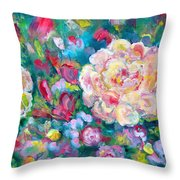 Serendipity Floral Throw Pillow