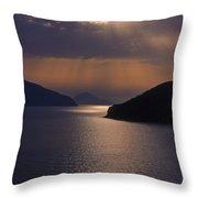 Serene At Evening Throw Pillow