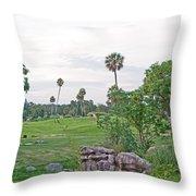 Serengeti Plain Throw Pillow