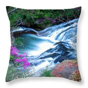 Serenity Flowing Throw Pillow