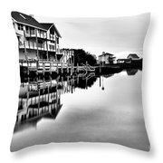 Serenity On The Sound Throw Pillow