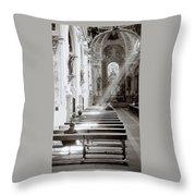 Zen Of Prayer Throw Pillow