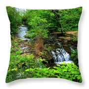 Serenity With Frame Throw Pillow