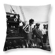 Sergei Eisenstein (1898-1948) Throw Pillow