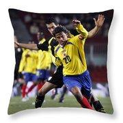 Carlos Busquets 2 Throw Pillow