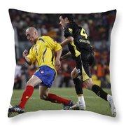 Carlos Busquets Throw Pillow