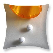 Seroquell Throw Pillow