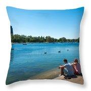Serpentine Hyde Park Throw Pillow