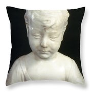 Settignano: Christ Child Throw Pillow