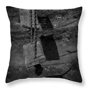Settled Sway Throw Pillow