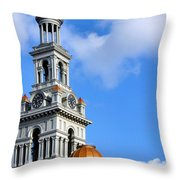 Sevier County Courthouse Throw Pillow