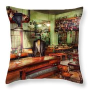 Sewing - Industrial - The Sweat Shop  Throw Pillow