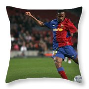 Seydou Keita Stroke Throw Pillow