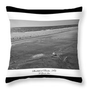 Shackleford Banks A Grand Idea Throw Pillow