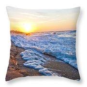 Shackleford Banks Study D Throw Pillow