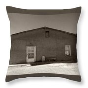Shaded Adobe Throw Pillow