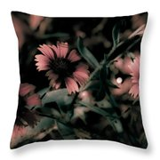 Shaded In The Evening Throw Pillow