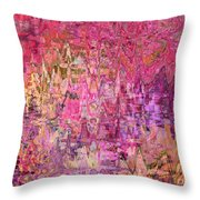 Shades Of Summer Throw Pillow