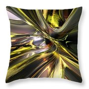 Shadow Abstract Serenity T Fx Throw Pillow