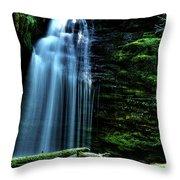 Shadow Falls II Throw Pillow