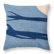 Shadow Friends Throw Pillow
