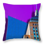 Shadow Of The City Throw Pillow