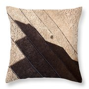 Shadow Stair Throw Pillow