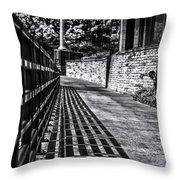 Shadow Walk Throw Pillow