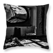 Shadows Of Roads Ahead Throw Pillow