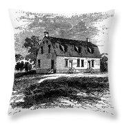 Shaker Church, 1875 Throw Pillow