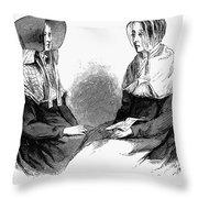 Shaker Women, 1875 Throw Pillow