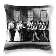 Shaker Worship Throw Pillow