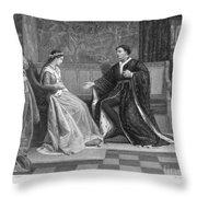 Shakespeare: King Henry V Throw Pillow